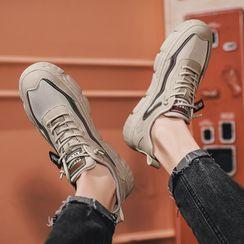 MARTUCCI - 配色边休閒鞋