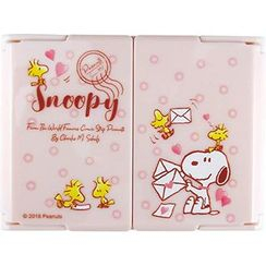 T'S Factory - SNOOPY 3 Sides Portable Mirror (Pink)