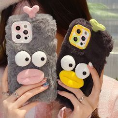 Pixel Dream - Chenille Duck Phone Case - iPhone 13 Pro Max / 13 Pro / 13 / 12 Pro Max / 12 Pro / 12 / 11 Pro Max / 11 Pro / 11 / XS Max / XR / XS / X / 8 Plus / 7 Plus