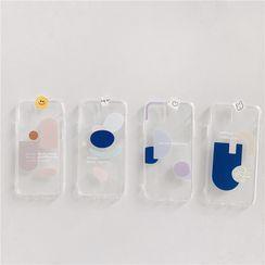 Ruggal - Print Transparent Phone Case - iPhone 12 Pro Max / 12 Pro / 12 / 12 mini / 11 Pro Max / 11 Pro / 11 / SE / XS Max / XS / XR / X / SE 2 / 8 / 8 Plus / 7 / 7 Plus