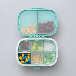 Livesmart - Travel Plastic Pill Box  (various designs)