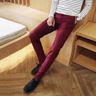 VIETTO - 純色修身長褲