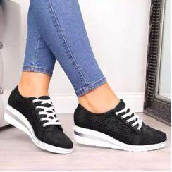 Aneka - Wedge-Heel Sneakers