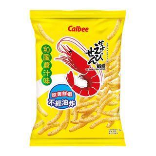 Calbee - Japanese Okonomiyaki Flavored Prawn Crackers 90g