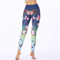 RITMO - Printed Yoga Pants