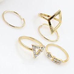 Cheermo - Metal Ring Set