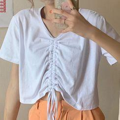 Cloud Nine - Drawstring Short-Sleeve T-Shirt