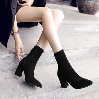 FiE FiE - 粗跟短靴