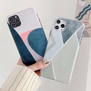 Aion - Colored Panel Phone Case - iPhone 11 Pro Max / 11 Pro / 11 / XS Max / XS / XR / X / 8 / 8 Plus / 7 / 7 Plus