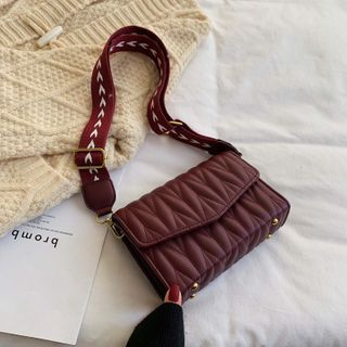 BAGUS - Quilted Flap Cross Bag