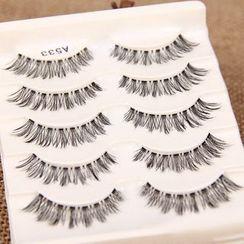 Hey! Cat - False Eyelashes (A533) (5 pairs)