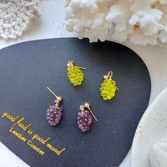 Riceo(リセオ) - Grapes Resin Earring