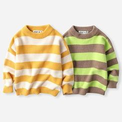 Happy Go Lucky - Kids Striped Sweater