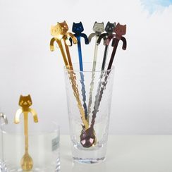 Oudine - Cat Stainless Steel Spoon