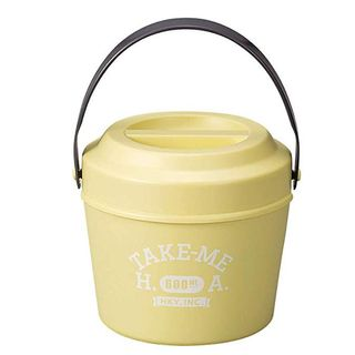 Hakoya - Hakoya Bucket Lunch Box (Take me) (Yellow)
