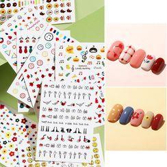 WGOMM - Print Nail Art Stickers