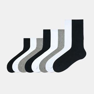 ASAIDA - Plain Ribbed Socks