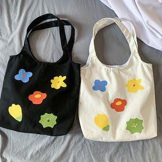 Sacculi(サックリ) - Printed Canvas Tote Bag
