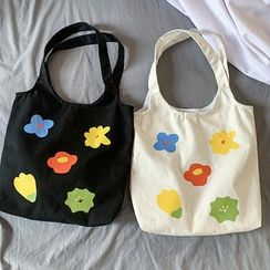 Sacculi(サックリ) - Printed Canvas Tote Bag