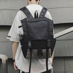 SUNMAN(サンマン) - Buckled Flap Backpack