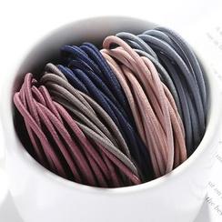 Miss Floral - Plain Color Hair Ties (50 pc / 100 pc)