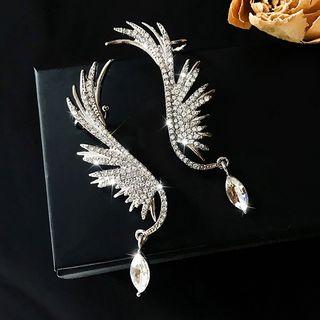 Catalunya - Rhinestone Wings Dangle Earring