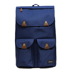 ideer(アイディール) - Taylor  - Laptop Backpack -  Bluberry
