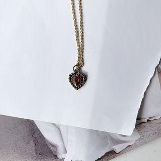PPGIRL - Heart Pendant Necklace