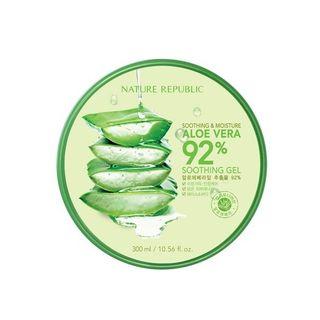 NATURE REPUBLIC - Soothing & Moisture Aloe Vera 92% Soothing Gel