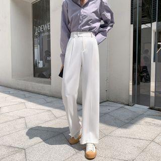 Shincastle - High-Waist Wide-Leg Dress Pants