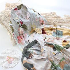 Dogini - Floral Pajama Set