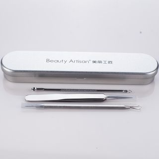 Beauty Artisan - Set of 3: Blackhead Extractors with Case