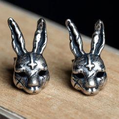 Andante - 925纯银小兔耳环