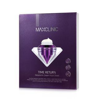 MAXCLINIC - Time Return Melatonin Cream Mask Set