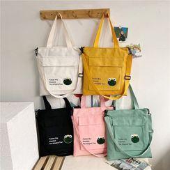 Calomes - Lettering Crossbody Bag