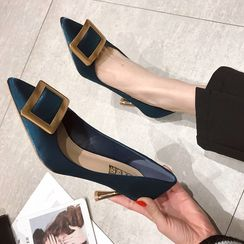 Butterfly Kiss - Pointed High Heel Pumps