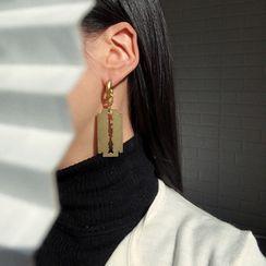 EBIZA - Razor Asymmetrical Drop Earring