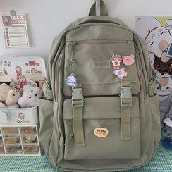 Caraket - Buckled Nylon Backpack