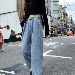 Allizzwell - Wide-Leg Jeans