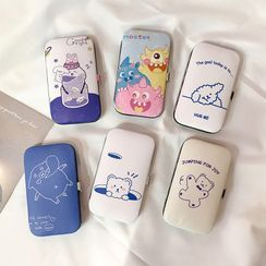 Chimi Chimi - Set of 7: Manicure Tool Kit with Cartoon Print Case