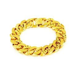 BELEC - Fashion Simple Plated Gold Geometric Bracelet