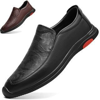 WeWolf - Genuine-Leather Panel Casual Shoes
