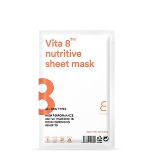 E NATURE - Vita 8 Nutritive Sheet Mask 1pc