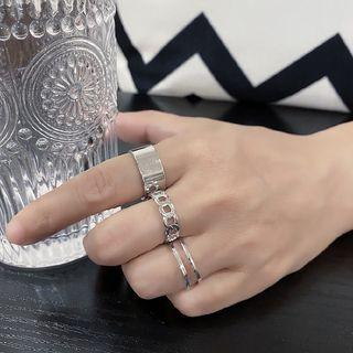 Porstina - 三件套装: 开口戒指