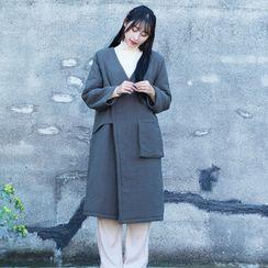 Fabric Sense - Wrap Padded Coat