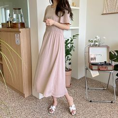 CANMART - Ruche Long Sway Dress