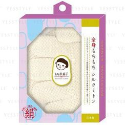 LUCKY TRENDY - Silk Body Wash Mitten