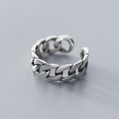 A'ROCH - 925純銀鏈條開口戒指