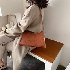 Perlin - Faux Leather Shoulder Bag