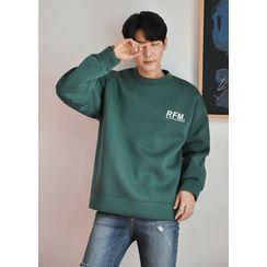 GERIO - 'RFM' Printed Neoprene Sweatshirt